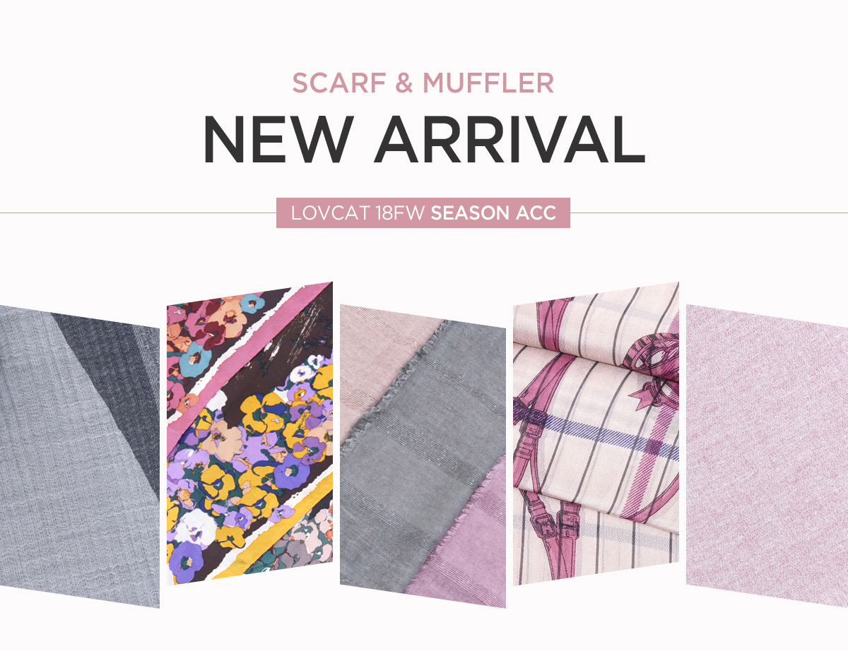 [SCARF] 18FW NEW ARRIVAL